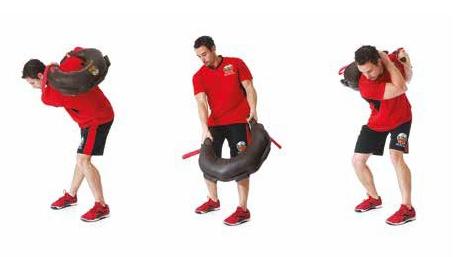 Image 6 Arm Throw Movement Pattern Using Bulgarian Bag