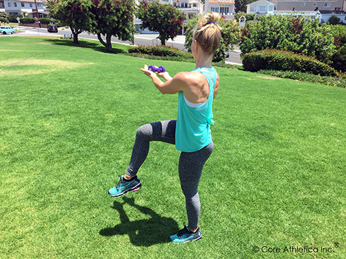 Lunge with Core Twist 2