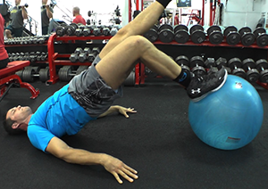 bridge on stability ball