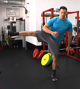 lateral leg swing
