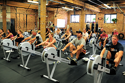 Indoor Rowing